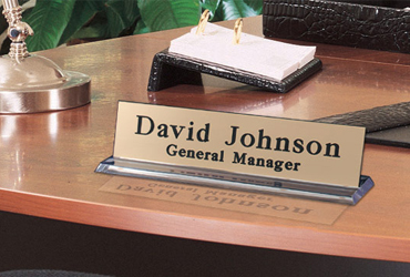 Attractive designed name plates
